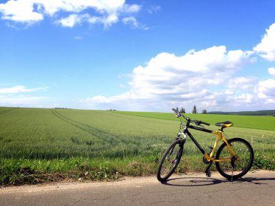 マウンテンバイクで田舎体験