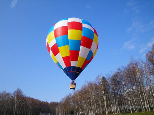 熱気球係留フライト